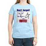 Don't Forget to Vote! Women's Light T-Shirt