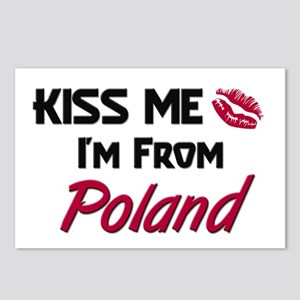Kiss Me I'm from Poland Postcards (Package of 8)