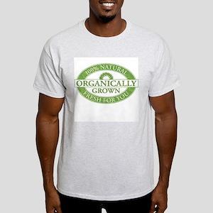 Organically Grown Ash Grey T-Shirt