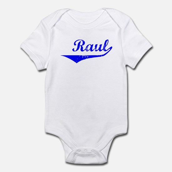 Raul Vintage (Blue) Infant Bodysuit