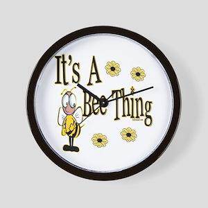 Bee Thing! Wall Clock