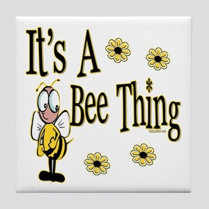 Bee Thing! Tile Coaster