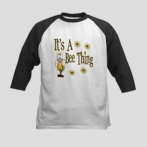 Bee Thing! Kids Baseball Jersey
