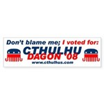 Cthulhu/Dagon'08 Bumpersticker