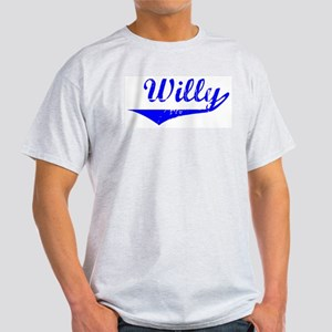 Willy Vintage (Blue) Light T-Shirt