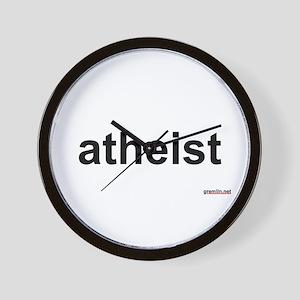 BTR: atheist Wall Clock