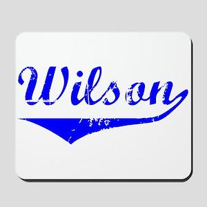 Wilson Vintage (Blue) Mousepad