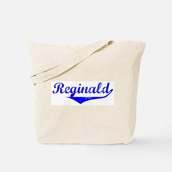Reginald Vintage (Blue) Tote Bag