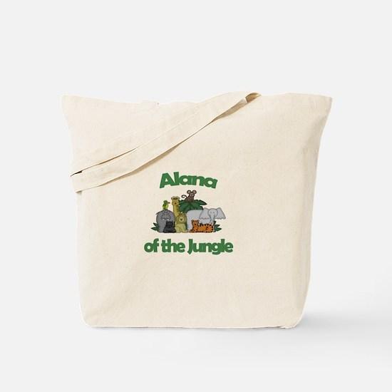 Alana of the Jungle Tote Bag
