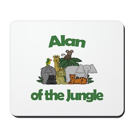 Alan of the Jungle Mousepad