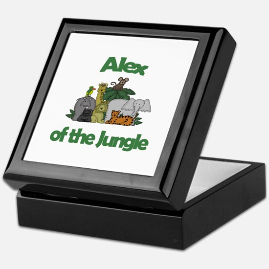 Alex of the Jungle  Keepsake Box