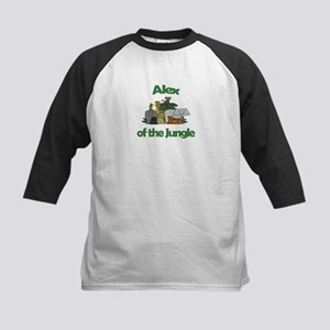 Alex of the Jungle Kids Baseball Jersey