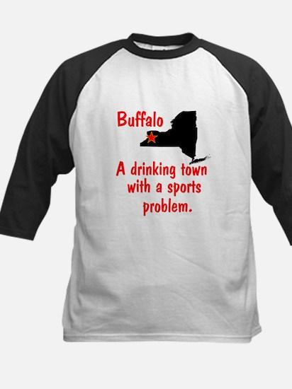Drinking Town Kids Baseball Jersey
