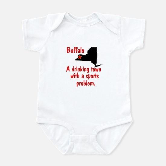 Drinking Town Infant Bodysuit