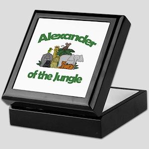 Alexander of the Jungle  Keepsake Box