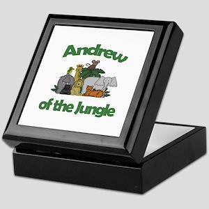 Andrew of the Jungle Keepsake Box