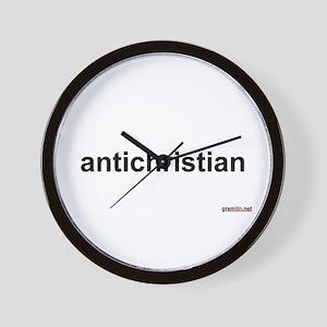 BTR: antichristian Wall Clock