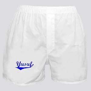 Yusuf Vintage (Blue) Boxer Shorts