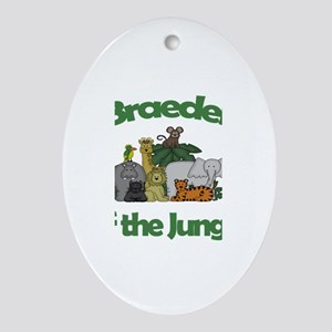 Braeden of the Jungle Oval Ornament