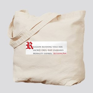 Morality Expires Tote Bag