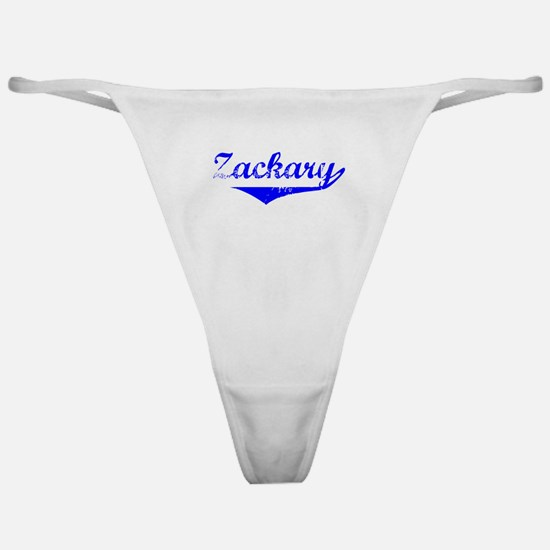 Zackary Vintage (Blue) Classic Thong