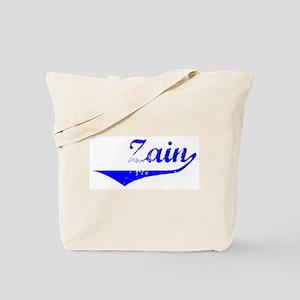 Zain Vintage (Blue) Tote Bag