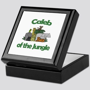 Caleb of the Jungle  Keepsake Box