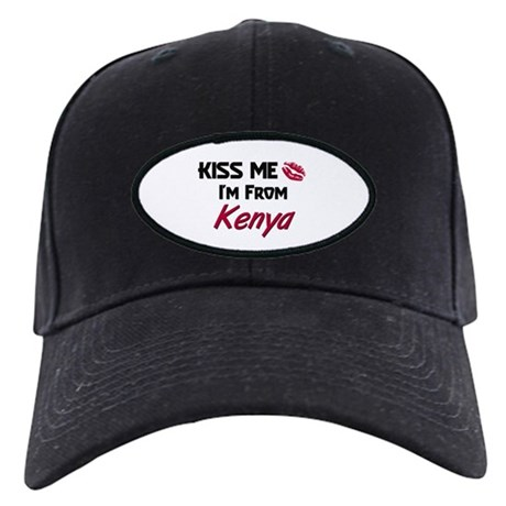 Kiss Me I'm from Kenya Black Cap