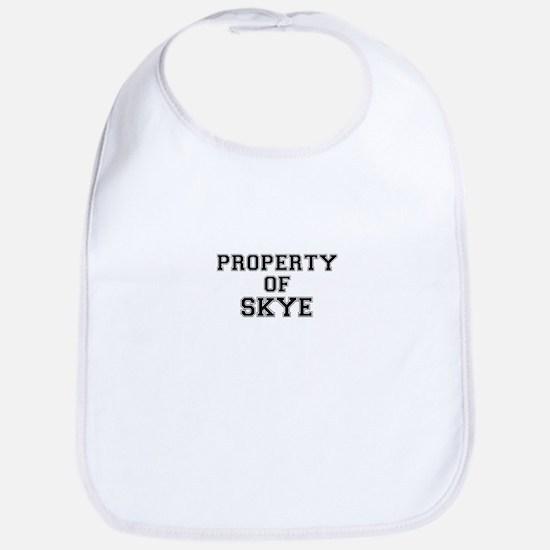 Property of SKYE Bib