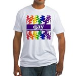 gay Fitted T-Shirt