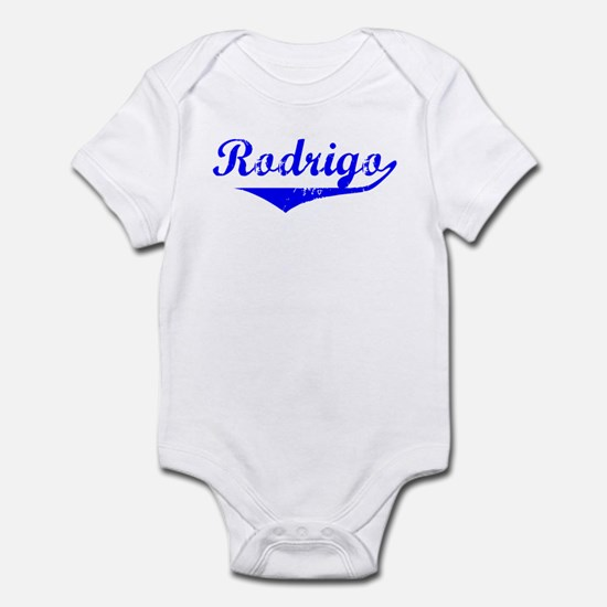 Rodrigo Vintage (Blue) Infant Bodysuit