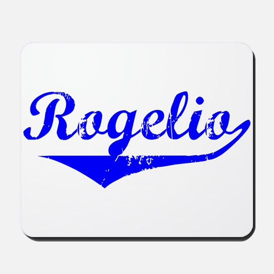 Rogelio Vintage (Blue) Mousepad