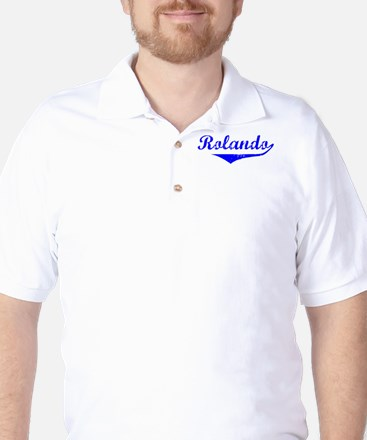 Rolando Vintage (Blue) Golf Shirt