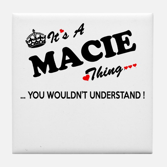 MACIE thing, you wouldn't understand Tile Coaster