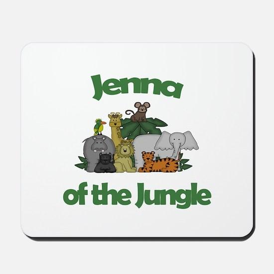 Jenna of the Jungle Mousepad