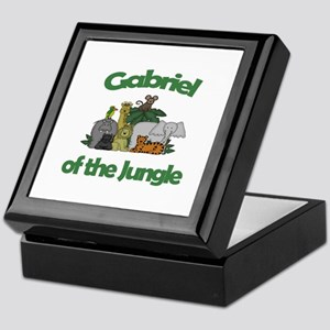 Gabriel of the Jungle  Keepsake Box