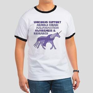 Unicorns Support Arnold Chiari Malformatio T-Shirt