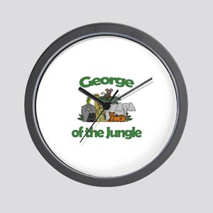 George of the Jungle  Wall Clock