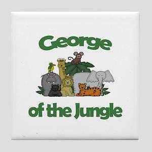 George of the Jungle  Tile Coaster