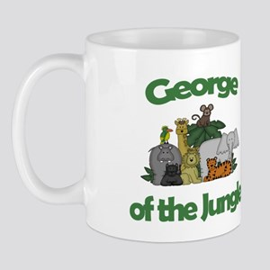 George of the Jungle Mug