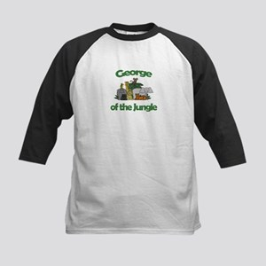 George of the Jungle  Kids Baseball Jersey