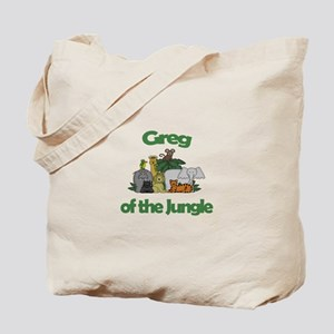 Greg of the Jungle Tote Bag