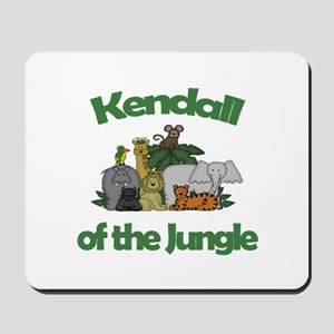 Kendall of the Jungle Mousepad