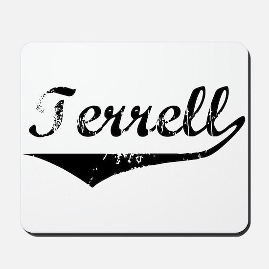 Terrell Vintage (Black) Mousepad