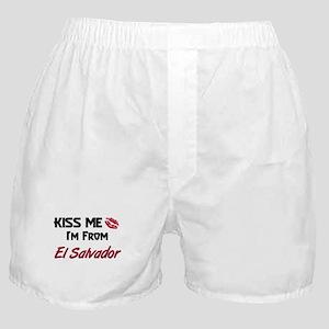 Kiss Me I'm from El Salvador Boxer Shorts