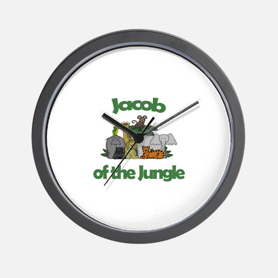 Jacob of the Jungle  Wall Clock