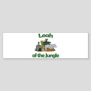 Leah of the Jungle Bumper Sticker