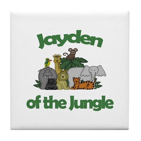 Jayden of the Jungle Tile Coaster