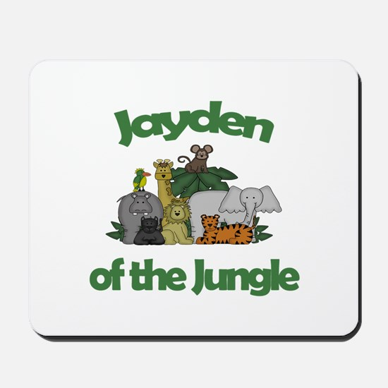 Jayden of the Jungle Mousepad