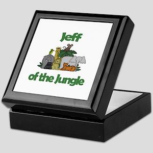 Jeff of the Jungle  Keepsake Box